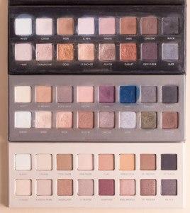 LORAC-Pro-Palette-1-2-3-Comparison